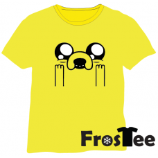 Adventure Time! - Jake the dog excited