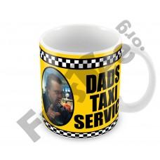 Dads Taxi Service Mug