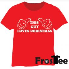 Christmas - This guys loves christmas