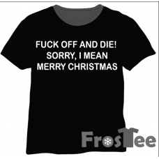Christmas - Fuck off and die